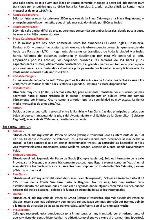 INFORME SOBRE LAS AREAS COMERCIALES DE LA CIUDAD DE BARCELONA-3